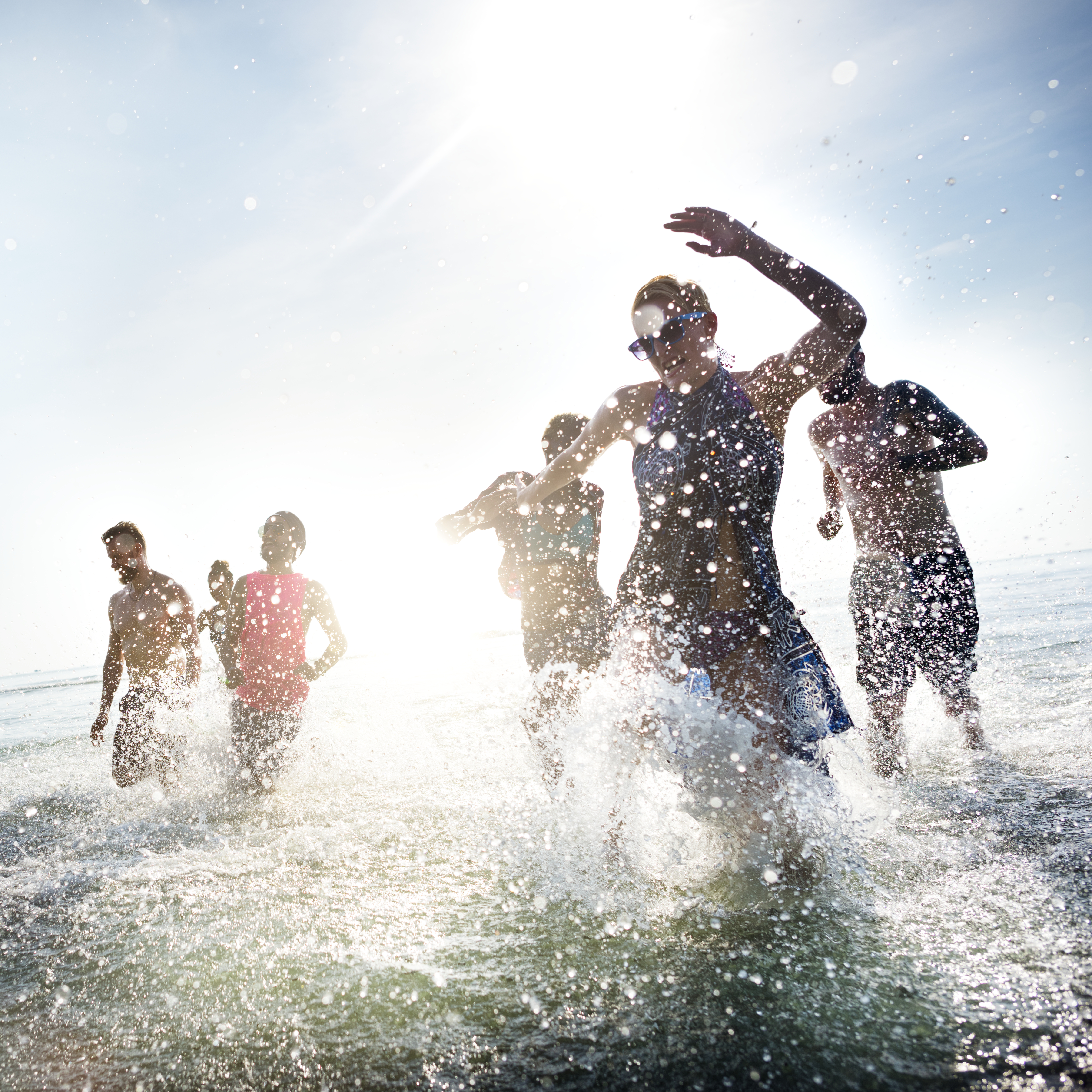 Sunny Beach Bulgarien strand vand